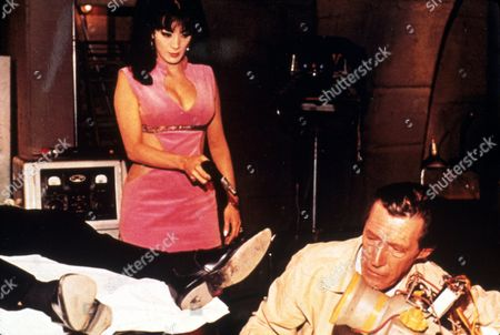 FILM STILLS OF 'ASTRO ZOMBIES' WITH 1967, JOHN CARRADINE, TED V MIKELS, TURA SATANA IN 1967
