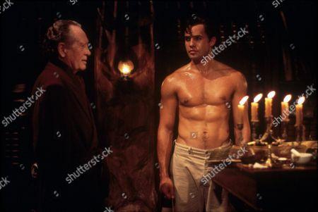 FILM STILLS OF 'PHANTOM' WITH 1996, PATRICK McGOOHAN, SIMON WINCER, BILLY ZANE IN 1996