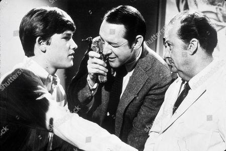 FILM STILLS OF 'COMPUTER WORE TENNIS SHOES' WITH 1969, ROBERT BUTLER, KURT RUSSELL, WILLIAM SCHALLERT IN 1969