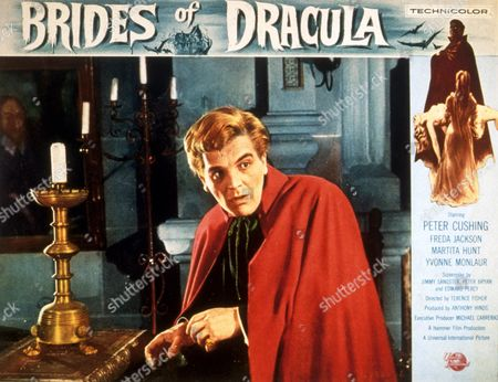 FILM STILLS OF 'BRIDES OF DRACULA' WITH 1960, TERENCE FISHER, DAVID PEEL IN 1960