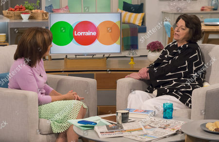 Lorraine Kelly and Shane Spall