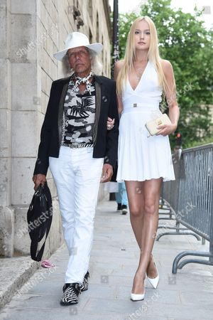 Editorial picture of Street Style at Haute Couture Fashion Week, Paris, France - 06 Jul 2014