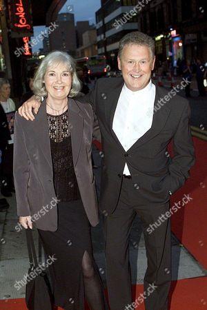 TONY ROPER WITH WIFE