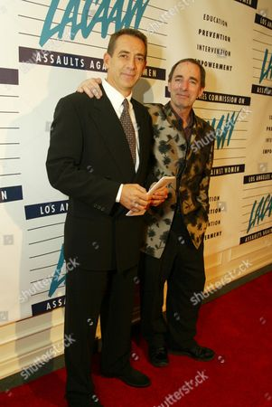Stock Photo of Gavin De Becker and Harry Shearer