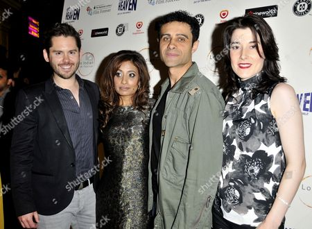 Stock Photo of Martin Delaney, Seirah Royin, Rez Kempton and guest