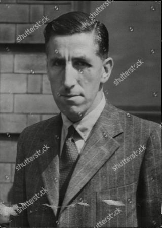 Stock Photo of Stuart Duncan Davies Aircraft Designer For A.v. Roe & Co. Ltd. (avro) At Tudor Ii Plane Crash Inquest 1947.