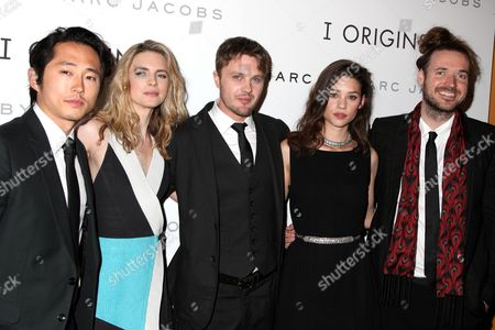 Steven Yeun, Brit Marling, Michael Pitt, Astrid Berges-Frisbey and Mike Cahill