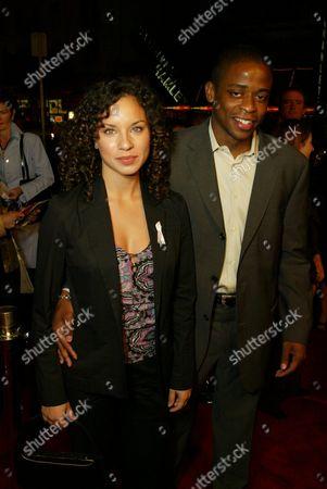 Nicole Lyn and Dule Hill