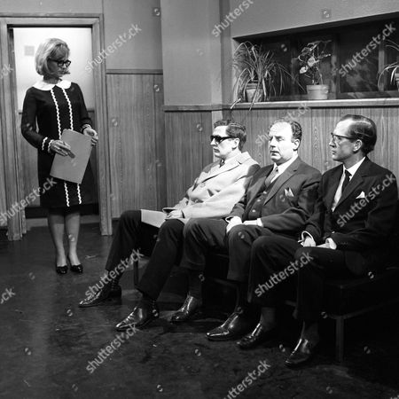 Wanda Ventham, Jerome Willis, Reginald Marsh and Bernard Hepton