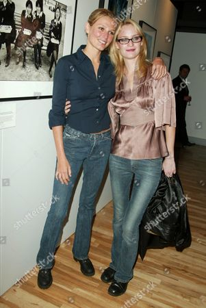 Bridget Hall and Amy Wesson