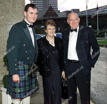 Stock Photo of GRANT STOTT WITH HIS MOTHER AND FATHER