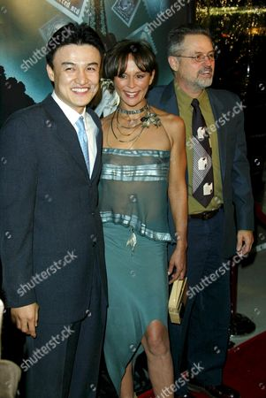 JOONG HOON PARK WITH CHRISTINE BOISSON AND DIRECTOR, JONATHAN DEMME