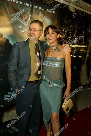 Director Jonathan Demme and Christine Boisson