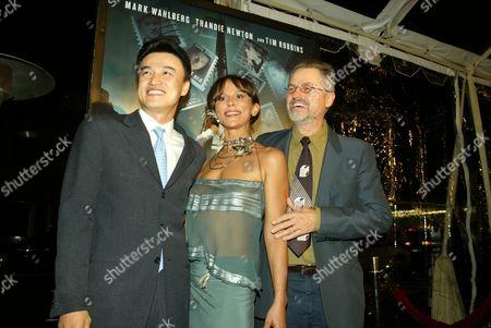 Joong-Hoon Park, Christine Boisson and Director Jonathan Demme
