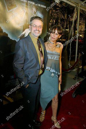 Jonathan Demme and Christine Boisson