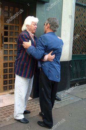 TONY BLACKBURN AND MIKE MANSFIELD