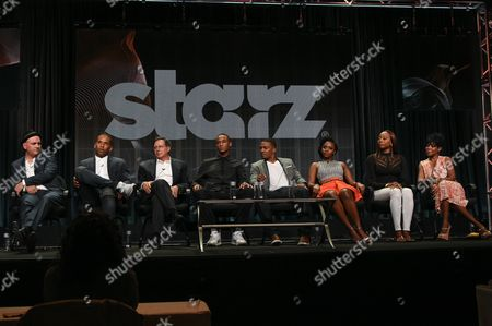 Mike O'Malley, Maverick Carter, Tom Werner, Jessie T. Usher, RonReaco Lee, Teyonah Parris, Erica Ash and Tichina Arnold