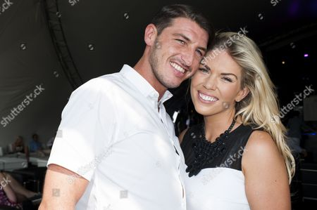 Frankie Essex and her boyfriend John Lyons