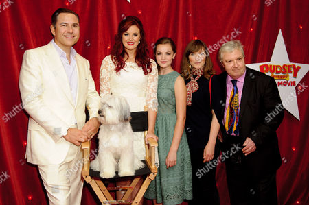 David Walliams, Ashleigh Butler, Isobel Meikle-Small, Jessica Hynes and John Sessions