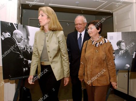 Editorial image of CAROLINE KENNEDY OPENING A FORUM ON THE CUBAN MISSILE CRISIS AT THE JOHN F KENNEDY LIBRARY AND MUSEUM, BOSTON, AMERICA - 20 OCT 2002