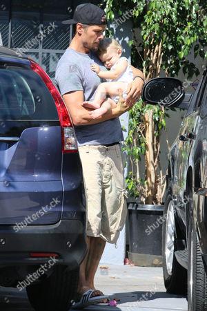 Josh Duhamel And Baby Axl Jack