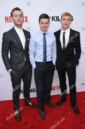 Sterling Beaumon, Tyler Ross and Levi Meaden