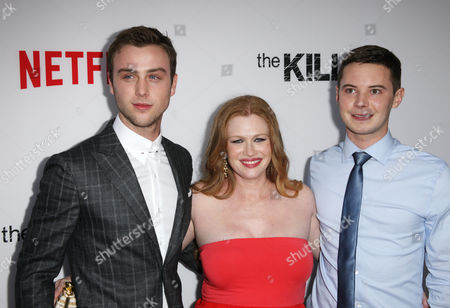 Sterling Beaumon, Mireille Enos and Tyler Ross