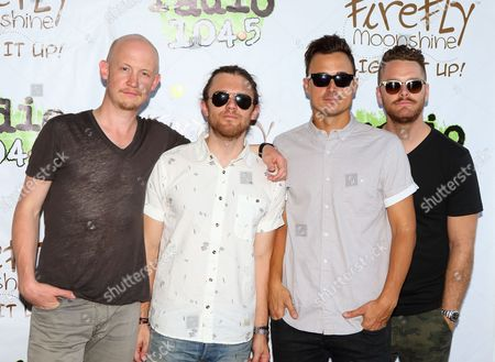 Editorial image of The Fray in concert at Festival Pier, Philadelphia Pennsylvania, America - 12 Jul 2014