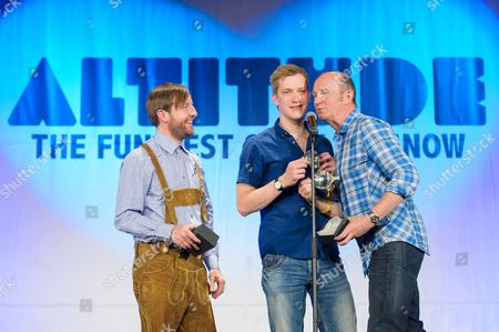 Andrew Maxwell, Daniel Sloss and Fred MacAulay