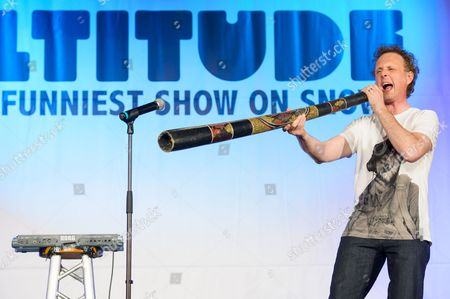 Editorial photo of Altitude Comedy Festival at the Europahaus, Mayrhofen, Austria - 03 Apr 2014