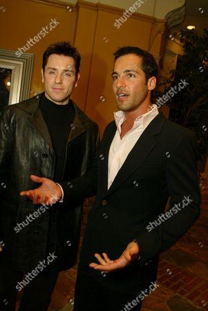 Ron Eldard and Alex Dimitriades