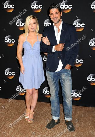 Kirsten Storms and Ryan Paevey