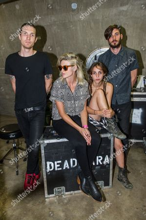 Dead Sara - Emily Armstrong, Sean Friday, Siouxsie Medley, and Chris Null