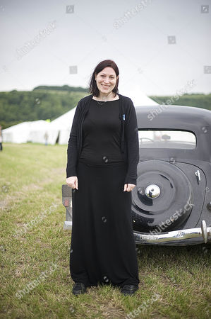 Daily Mail Chalke Valley History Festival 2013. Natalie Haynes Who Was In The Histrionics Comedy Quiz.