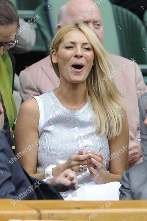 Editorial image of Wimbledon Tennis Championships 2013 Day Eight - Agnieszka Radwanska V Na Li - Pic Shows:- Tess Daley In Royal Box.