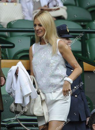 Editorial picture of Wimbledon Tennis Championships 2013 Day Eight - Agnieszka Radwanska V Na Li - Pic Shows:- Tess Daley.