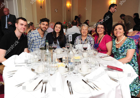 Pictured: Eric Sykes Family His Mother Is Fourth From Left The Heritage Foundation Hosts A Dinner For Eric Sykes Cbe Plaque Unveiling At The Marriott Hotel Regents Park.