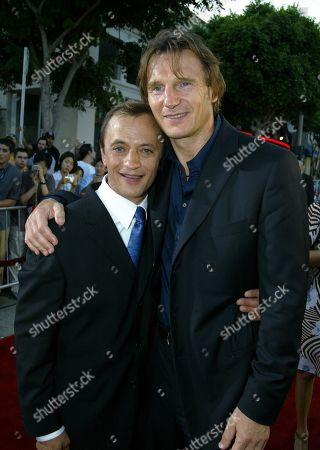 Ravil Isyanov and Liam Neeson
