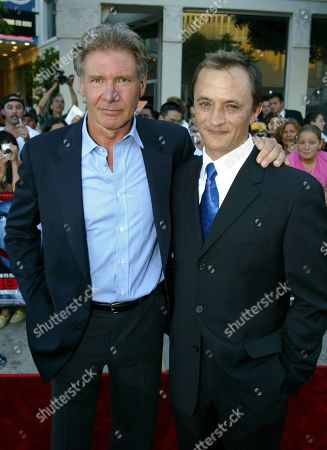 Harrison Ford and Ravil Isyanov