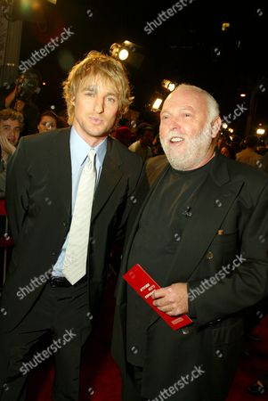 Owen Wilson and Andy Vajna