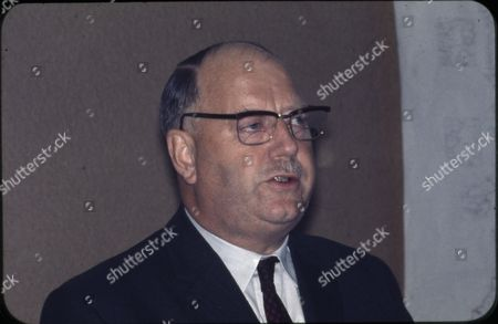 Stock Picture of Lord Beeching, a Politician.