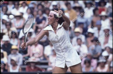 Rosemary Casals, an American Tennis Player.