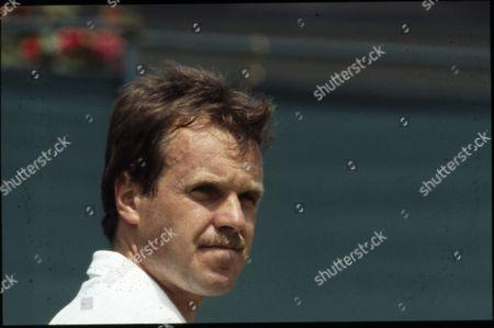 Stock Image of Wojtek Fibak, Polish Tennis Player.