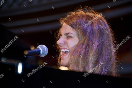 Editorial image of Stephanie Nilles in concert at Salzkammergut Festival, Gmunden, Austria - 14 Jul 2014