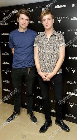 Jack Bevan and Alex Robertshaw