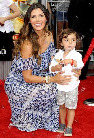 Ali Landry and son Marcelo Alejandro Monteverde