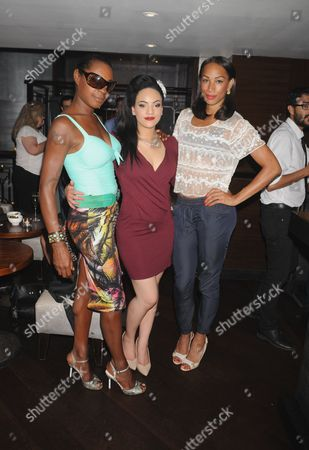 Stock Photo of Sonique, Stephanie McCourt and Jade Johnson