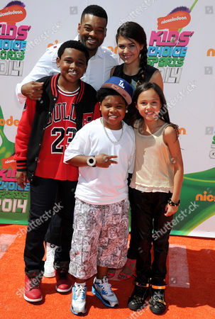 Chico Benymon, Amber Montana, Breanna Yde, Curtis Harris and Benjamin Flores Jr.