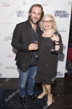 Mark Osmond and Sandra Dickinson