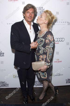 Nigel Havers and Christine Kavanagh
